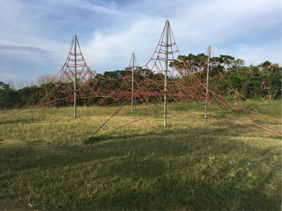 グスクロード公園の遊具